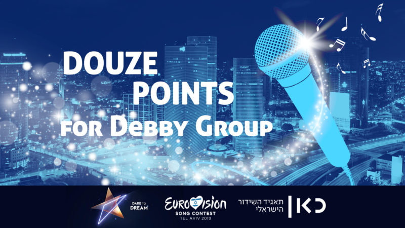 Kan chooses Debby Group for Eurovision Public Relations