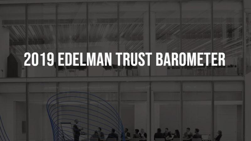 מדד האמון של אדלמן ל-2019: האמון במוסדות המדינה מתאושש, המעסיקים מעל כולם