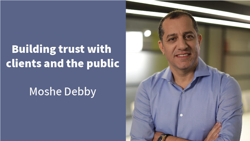 Building trust with clients and the public